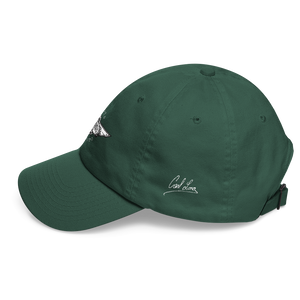 Spruce Green Veedverks Racing Carl Long #66 Classic Cap, Left Side Autograph
