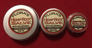 Hemp Root Salve with CBD