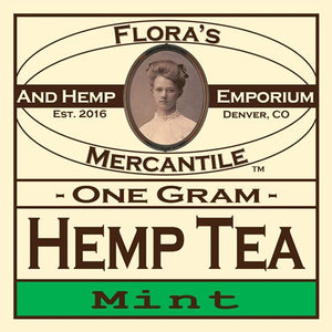 Hemp Flower Tea (Box of 10)