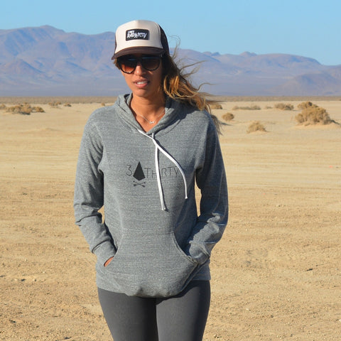 3 Thirty Hoodie - Heather Gray