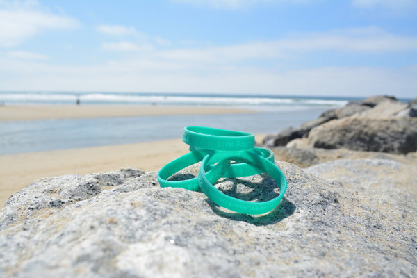 Surfing for Life Wristband