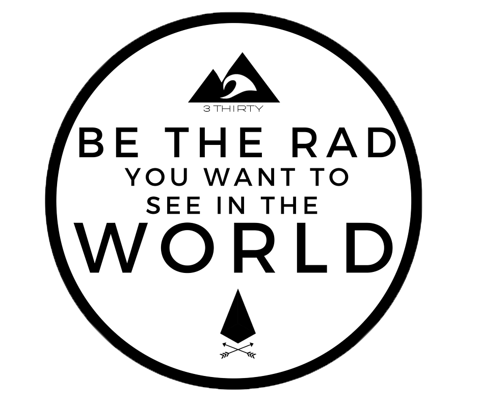 BE THE RAD