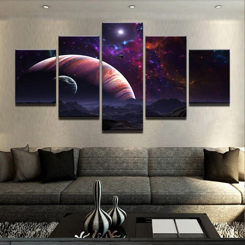 Marvelous Universe Canvas 5 Pcs Wall Art