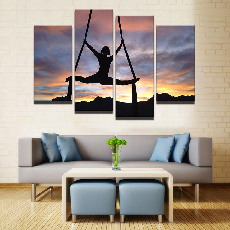 Aerialist 4 Pcs Canvas Set