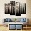 Dark Valley Canvas 4 Pcs Wall Art