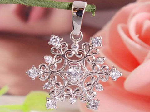 Beautiful Snowflake Pendant