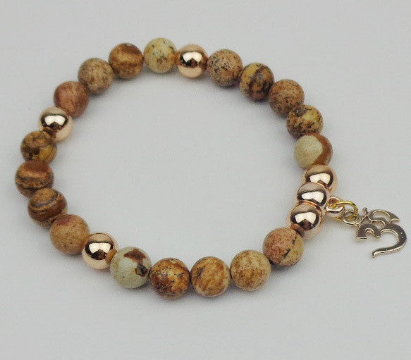 Light Brown OM Bracelet