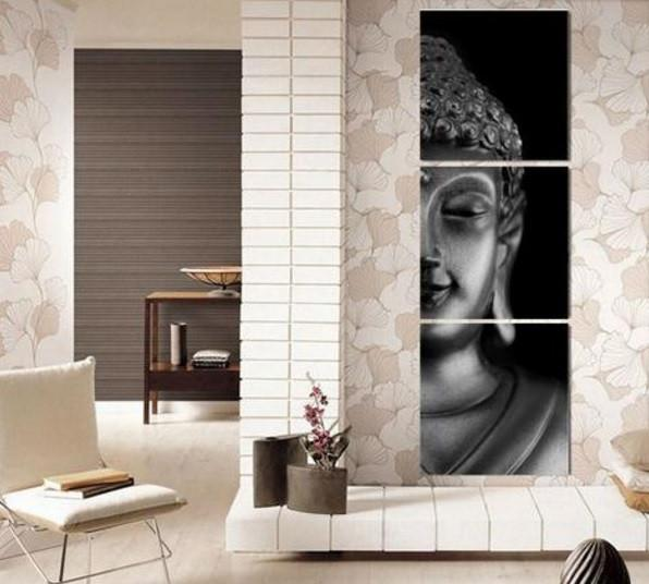 Meditate Buddha Canvas 3 Pcs Wall Art