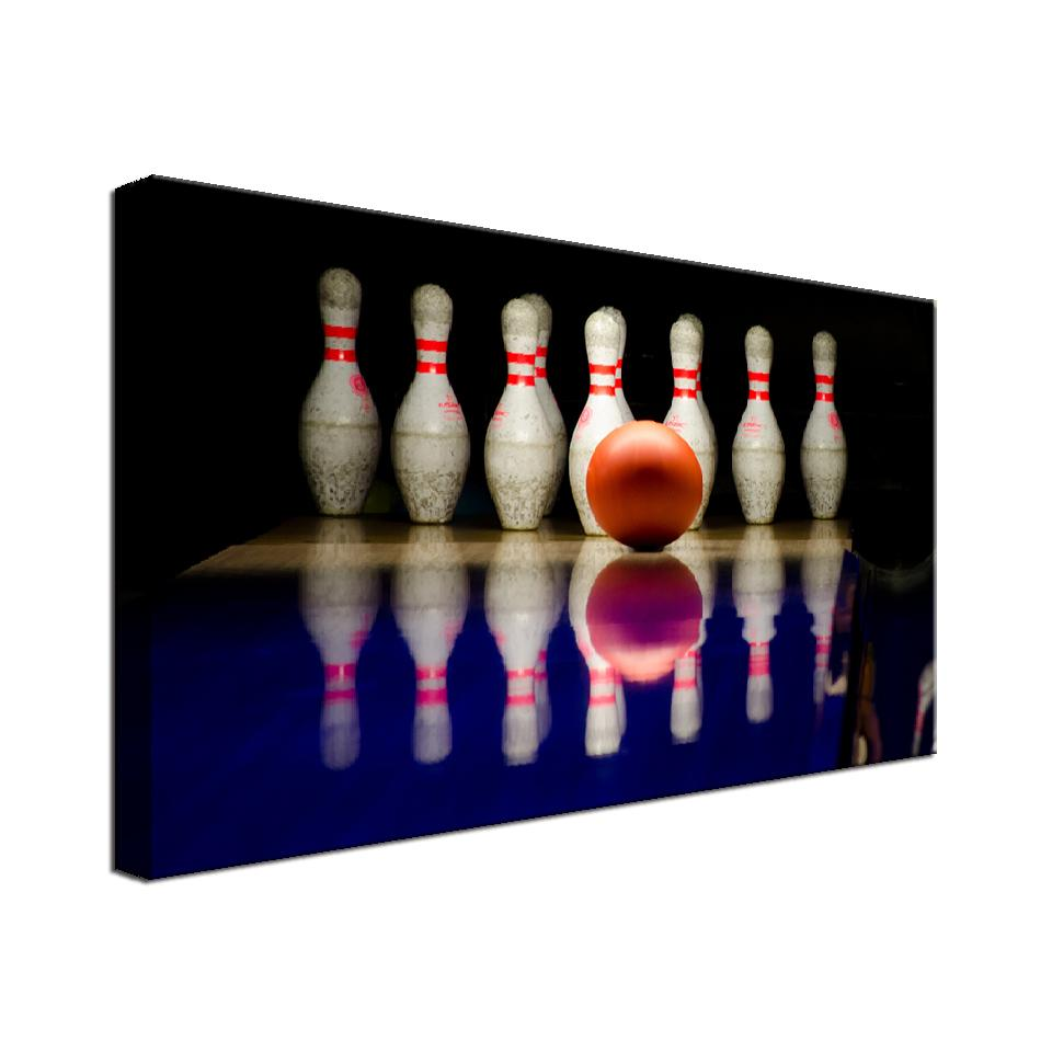 Bowling Single Canvas