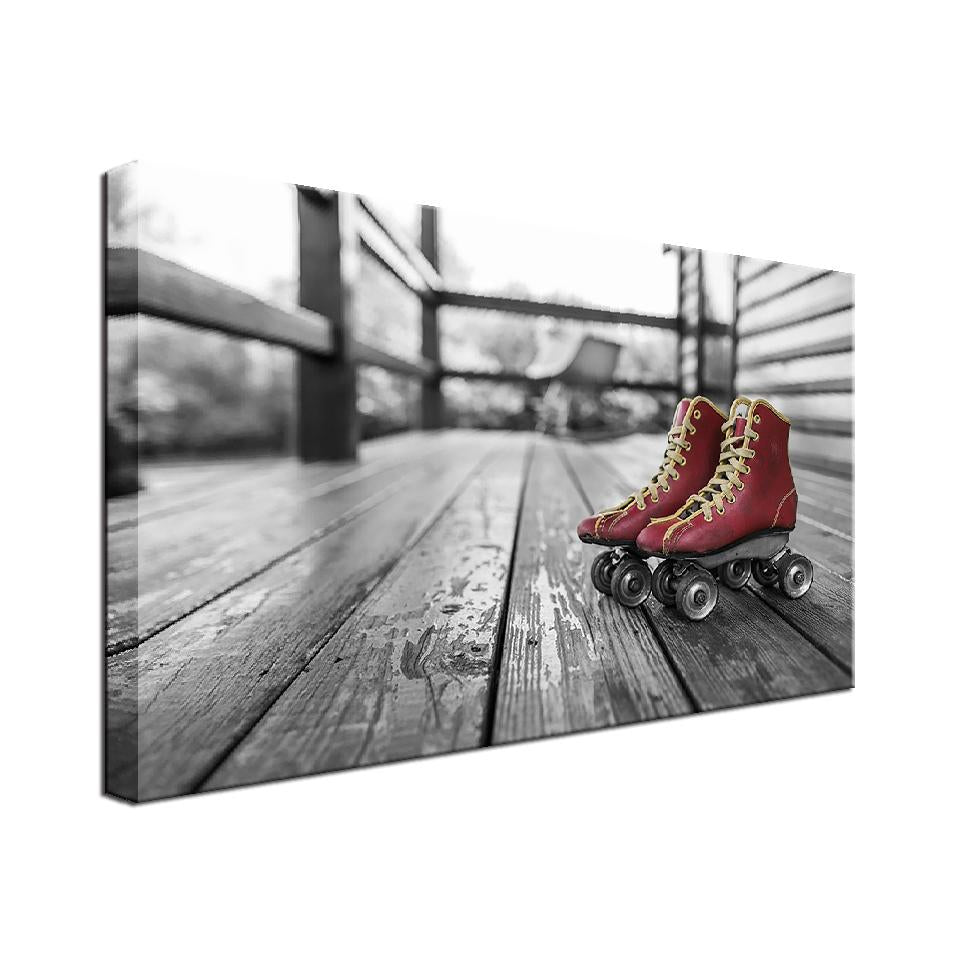 Classic Skates Single Canvas