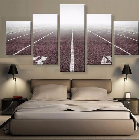 Athletics 5 Pcs Canvas Wall Art
