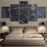 Cobweb 5 Pcs Canvas Wall Art
