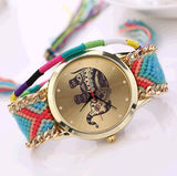 Handmade Elephant Quarzt Watch