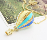 Special Air Balloon Pendant Long Necklace