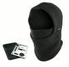 Survival Camping Kit (Knife Card & Winter Ski Mask Beanie Hat)
