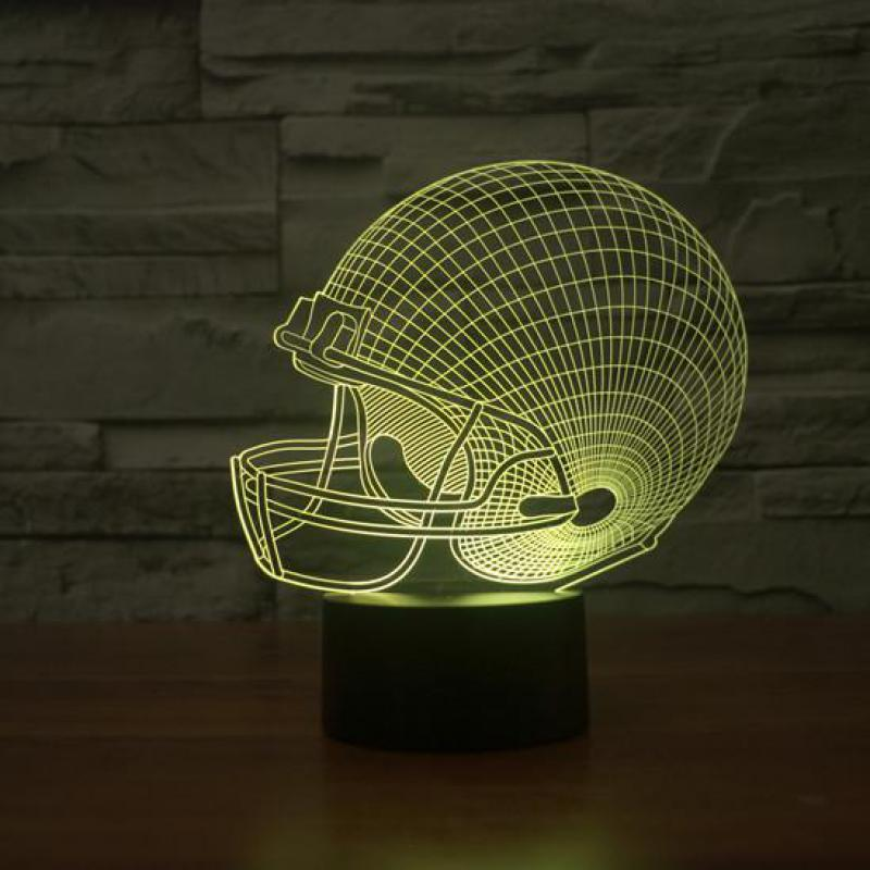 Football - 3D Table Lamp