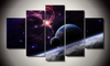 Galaxies Canvas 5 Pcs Wall Art