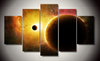 Cosmos 5 Pcs Wall Art Canvas Print Picture