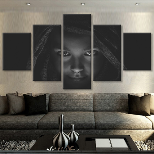 The Gothic 5 Pcs Wall Art Canvas