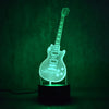 Guitar 3D Table Lamp