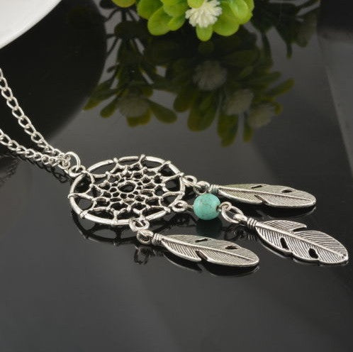 Dream Catcher Pendant Chain Necklace