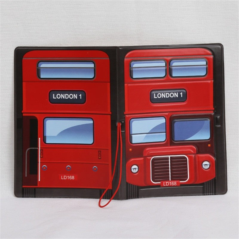 London Bus - 3D Passport Cover