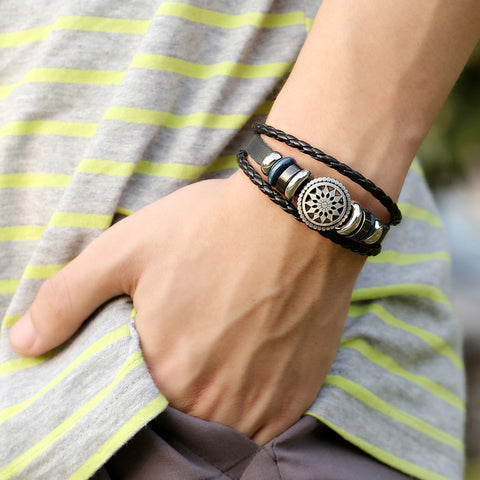 Handmade Genuine Leather Bracelet