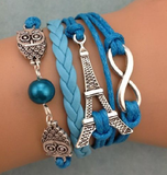 Pray for Paris - Eiffel Tower Bracelet