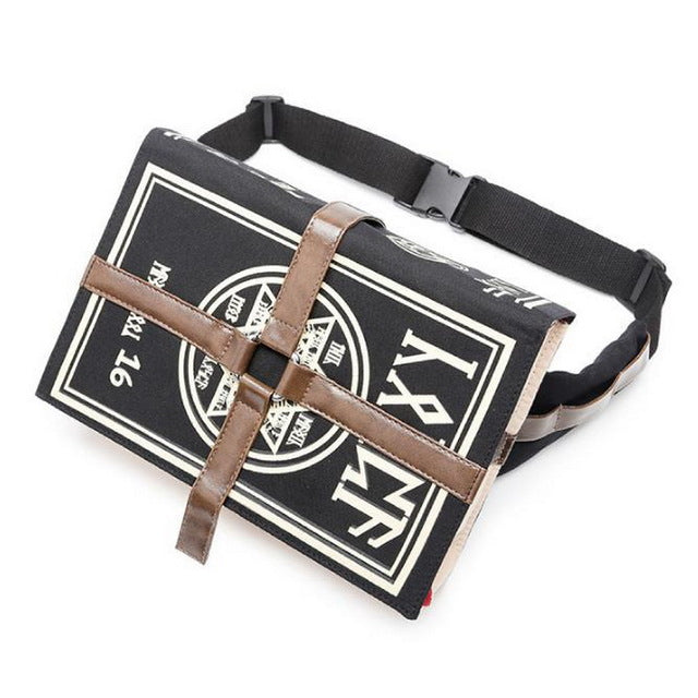 Gothic Magic Book Style Bag