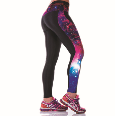 Multi-Color Cosmic Yoga Leggings