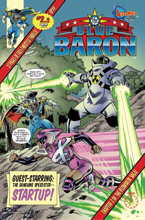 Blue Baron #2.2 (Digital Download)