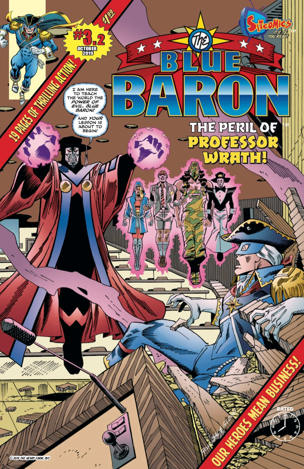 Blue Baron #3.2 (Digital Download)