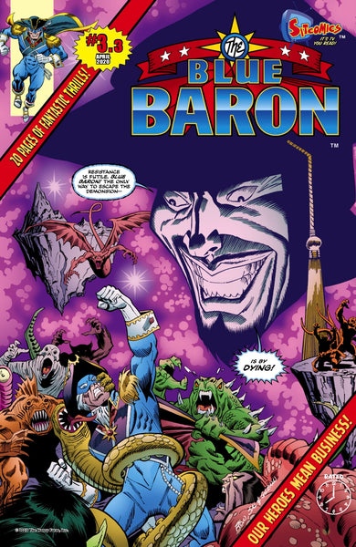 Blue Baron #3.3 (Digital Download)