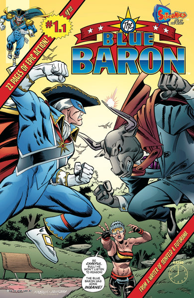 Blue Baron #1.1 (Digital Download)