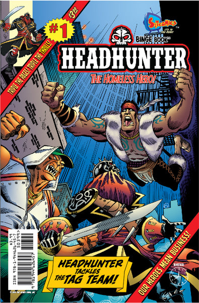 Headhunter Binge Book #1