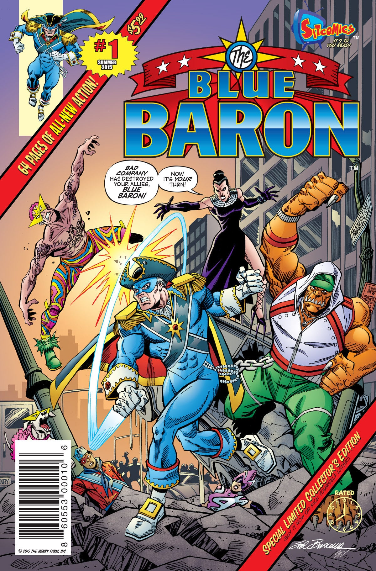 Blue Baron #1 (Digital Download)