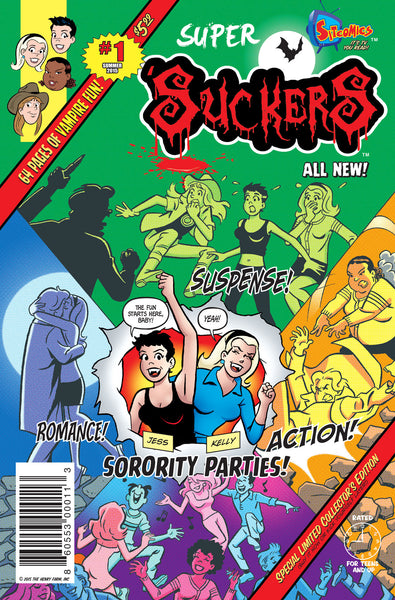 Super 'Suckers #1 (Autographed)