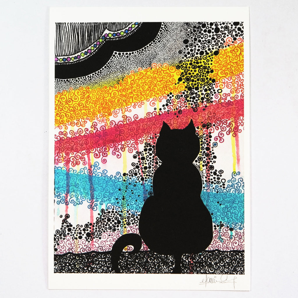 The Festival (Art Print) , #THATBLACKCAT , Prints - 2