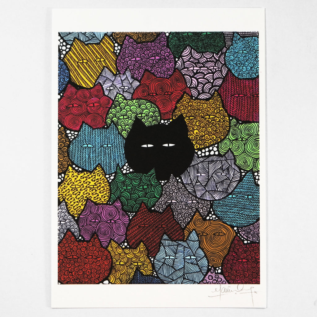I Am Different (Art Print) , #THATBLACKCAT , Prints - 3