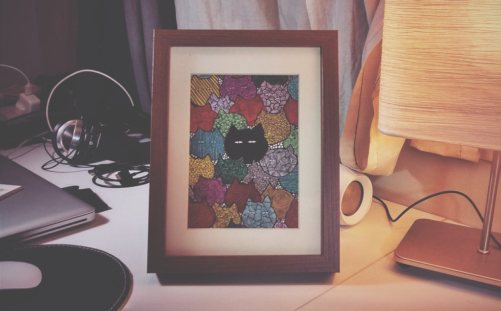 I Am Different (Art Print) , #THATBLACKCAT , Prints - 5