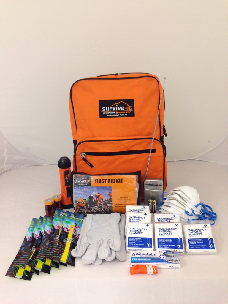 6 Person Home Survival Starter Kit