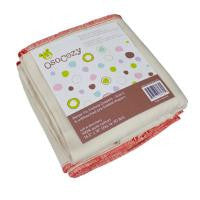 "OsoCozy® ""Better Fit"" Unbleached Prefold Diapers - 6pk - GENTLY USED"