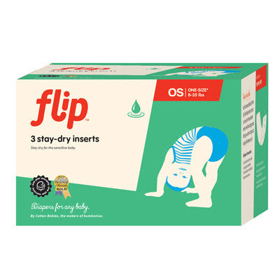 Flip Stay-Dry One-Size Inserts - 3pk