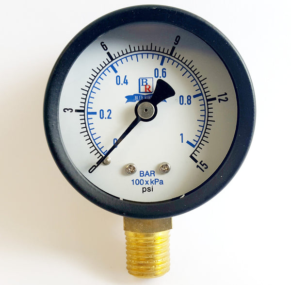 Bottom Connected Utility Gauge Model BR101D