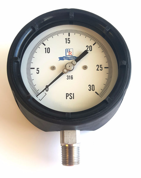 "4.5"" Dial SS Process Pressure Gauge Model BR400 BR800"