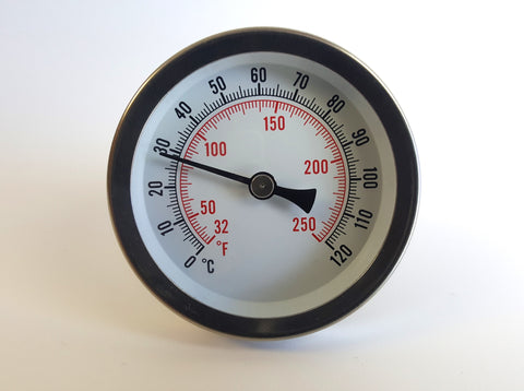 Hot Water Thermometer Model BRHW , Hot Water Thermometer, NWIM