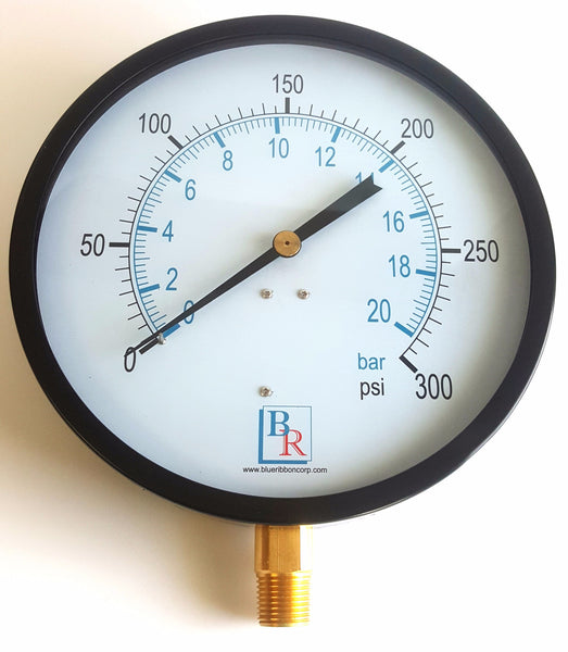 Bottom Connected Utility Gauge Model BR101D , Gauge, NWIM