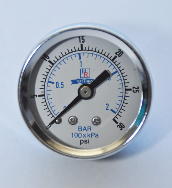 Back Connected Utility Gauge Model BR102D