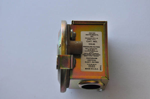 Dwyer Pressure Switch Series 1900 , Pressure Switch, NWIM