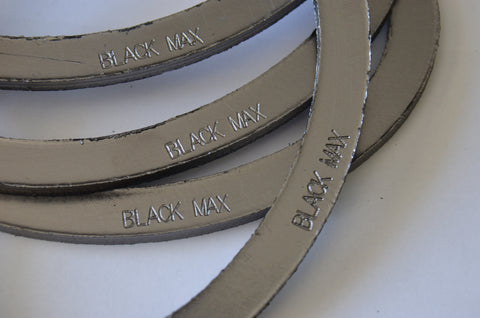 Elliptical Gaskets Graphite for Johnston Boilers , Graphite Gasket, NWIM